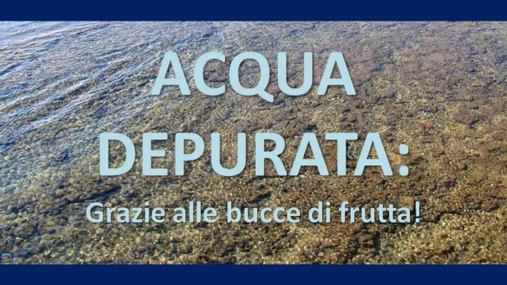 Acqua depurata grazie alle bucce di frutta salute in - Acqua depurata in casa ...